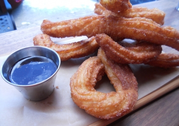 Spanish-style churros at Duckfat