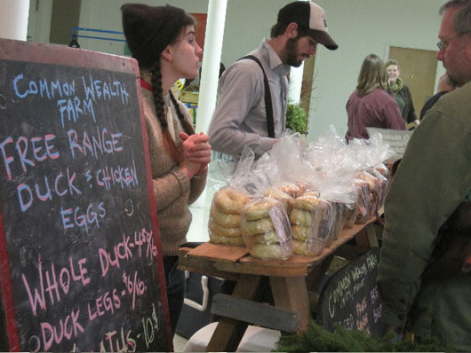 portland winters farmers market, portland, maine, photo by john spritz